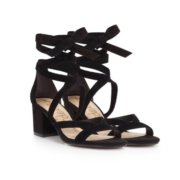 6bb3c98e1e80 Sam Edelman Shoes - Sam Edelman Sheri Ankle Wrap Block Heel